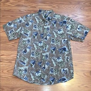 David Taylor Hawaiian Button Down shirt